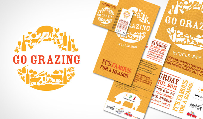 Go Grazing Brand identity
