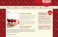 BiteRiot Website template design