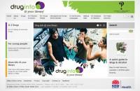 Drug Info @ your library Website design