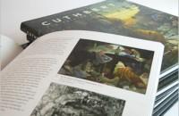 CUTHBERT - Case bound book - design detail