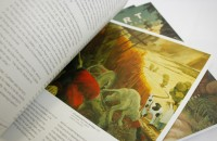 Inside spread - Cuthbert book