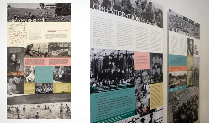 Fairbridge Farm Exhibition panels