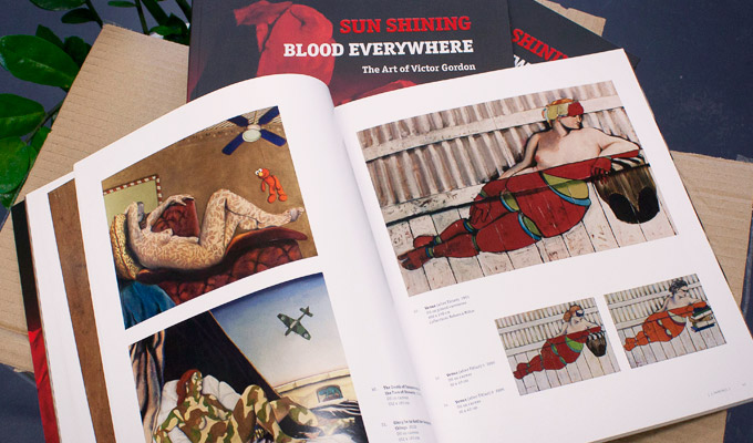 Sauce Design's latest creation the book:  Sun Shining - Blood Everywhere