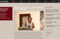 Victor Gordon website - blog