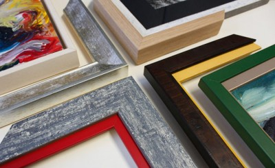 Custom picture frame mouldings