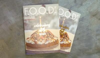 2016 FOOD Week program celebrating 25 years