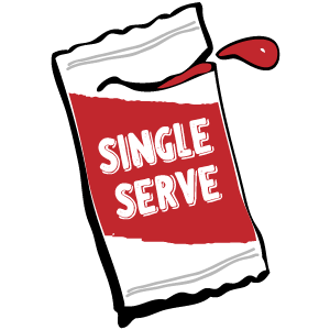 Sauce web icon - Single Serve Sauce