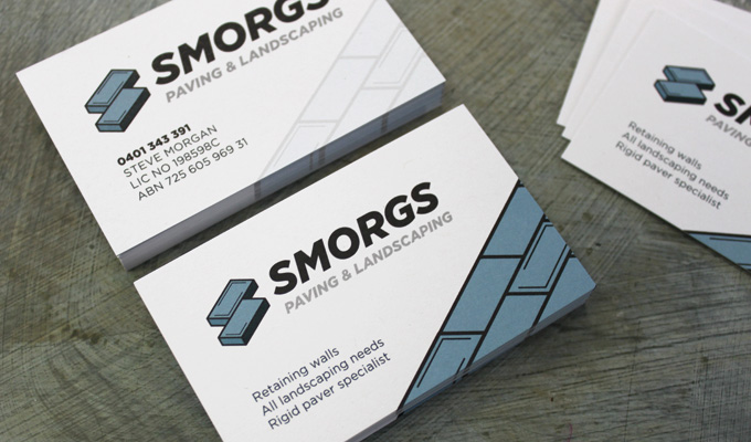 SMORGS-paving-and-lanscaping-business-cards-detail