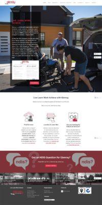 Glenray Website by Sauce Design