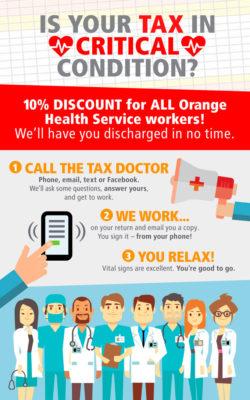 MP-Orange-Health-Service-10-percent-off-Tax-campaign-by-saucedesign