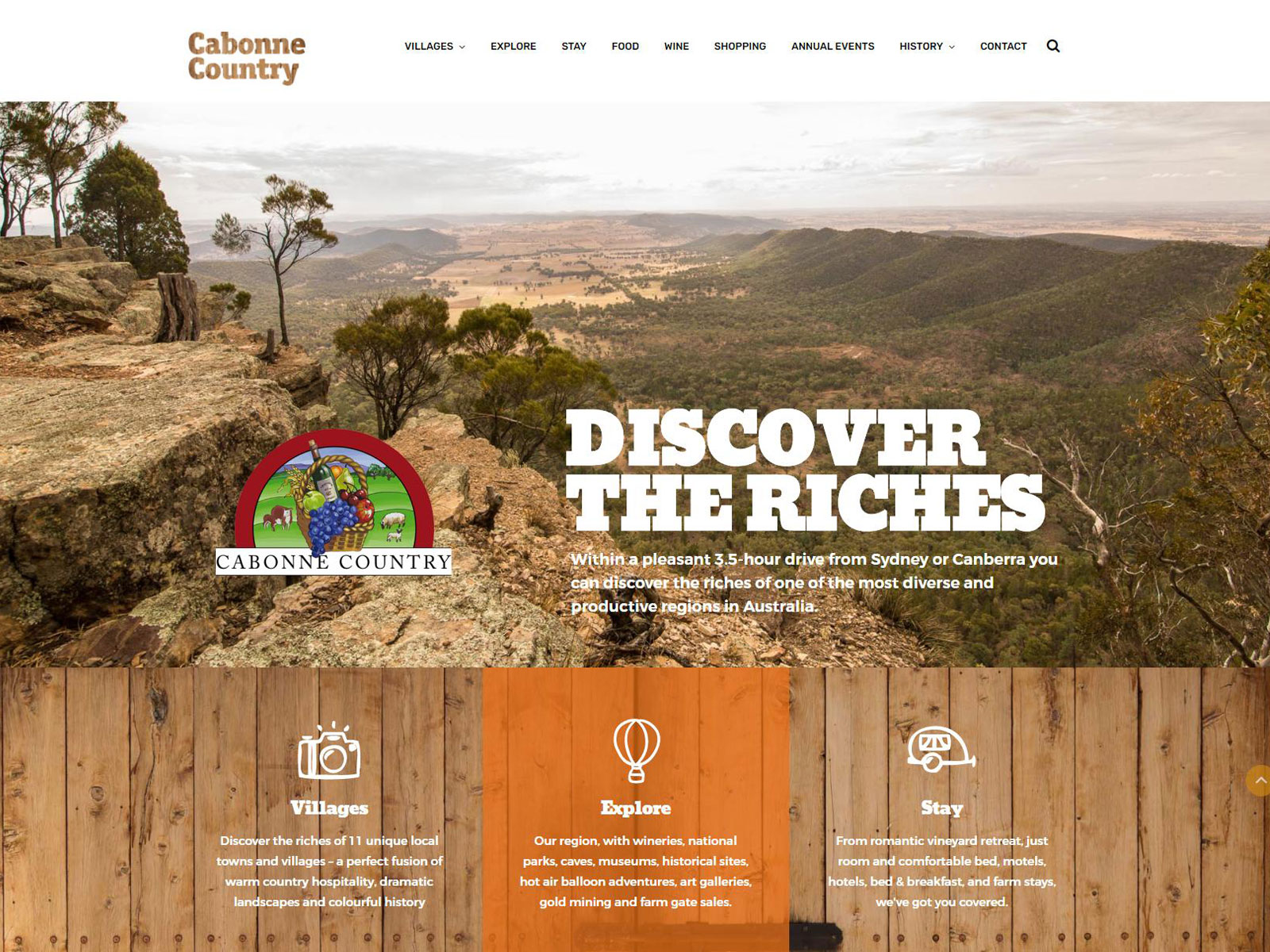 Cabonne Country website