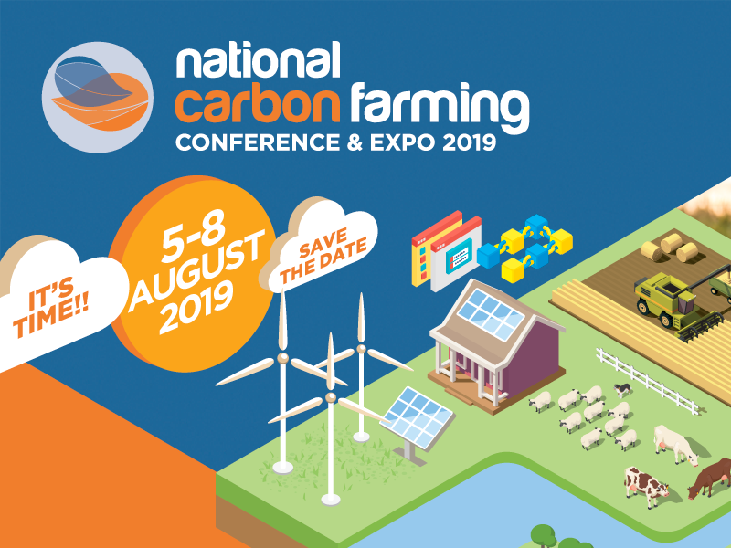 National Carbon Farming Conference 2019 - Website and digital collateral
