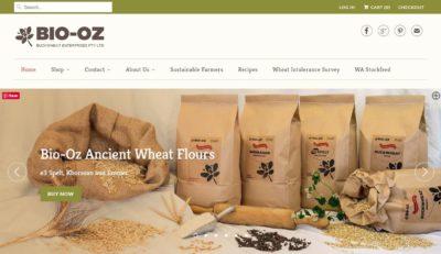 Bio-Oz eCommerce Shopify site
