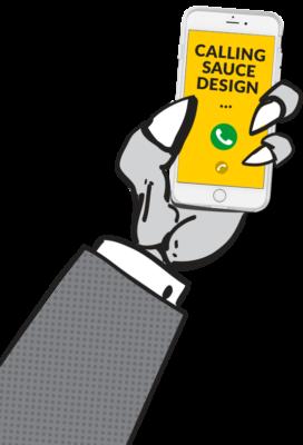 calling sauce design