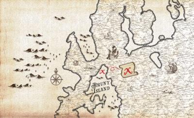 treasure map design