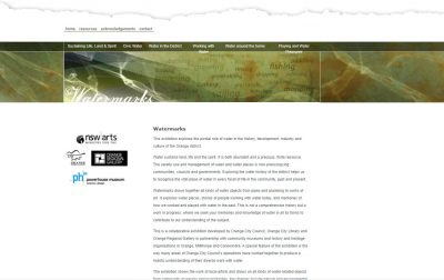 Watermarks website